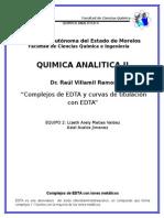2-QUIMICA ANALITICA Complejos de EDTA Con Iones Metalicos y Curvas de Titulación Con EDTA