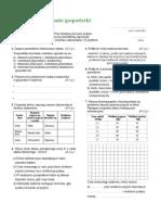 Krok w Przedsiębiorczość,( Istota Funkcjonowania Gospodarki Runkowej) test A i B