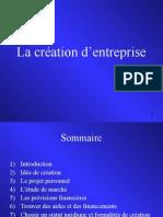 COURS SEG La Creation d Entreprise