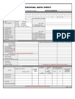 Pds Form Template