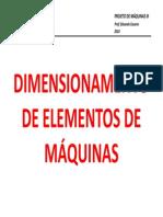 Dimensionamento de Elementos de Máquinas_pdf