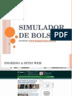 Simulador de Bolsa - Instructivo