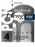 Quadern de Llengua Pont 4t
