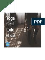 Yoga Fácil Todo El Día