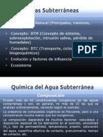Clase 2 - Aguas Subterraneas
