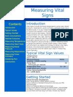 Measuring Vital Sign1
