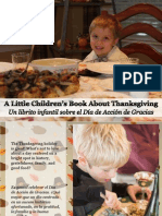 Un Librito Infantil Sobre El Día de Acción de Gracias - A Little Children's Book About Thanksgiving