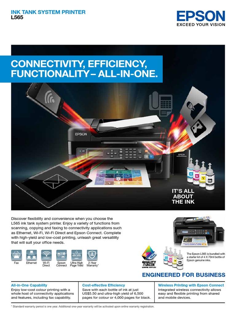 L565   Image Scanner   Printer (Computing)
