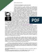 Contributiile Psihologilor La Aparitia Internatului
