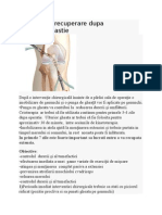 Protocol de Recuperare Dupa Ligamentoplastie