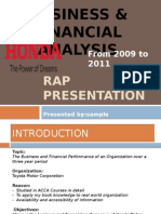Rap Presentation