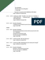 Cronograma Aneimera Perú Unac