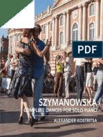 SZYMANOWSKA, M.- Dances for Solo Piano (Complete) (Kostritsa)