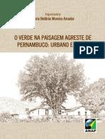 O Verde Na Paisagem Agreste de Pernambuco Urbano e Rural