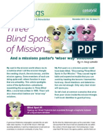 3 Blind Spots of Mission - Catalyst Services