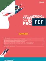 Como aumentar a produtividade da equipe de projetos