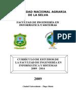 Curriculo de Estudios 2009 FIIS(300109)