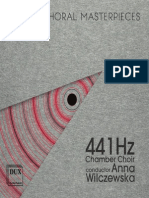 Choral Concert- Chamber Choir 441 Hz - MAMIYA, Michio