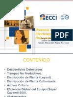 PROCESO DEIÓN DEL CHOCOLATE DE MESA 2° CORTE