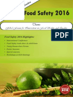 Foodsafety2016 Brochure
