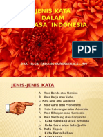 Jenis Kata Bahasa Indonesia