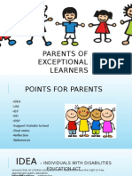 parents of exceptional learners