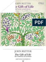 RUTTER, J.- Choral Music (the Gift of Life and 7 Sacred Pieces) (Cambridge Singers, Royal Philharmonic, Rutter)