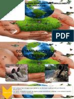 Contaminacion Por Aguas Residuales