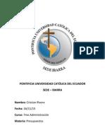 Presupuestos Ecuador 2015