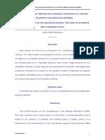 Competencias Básicas y Escuela Inclusiva El Caso de Los Alumnos Con Parálisis Cerebral