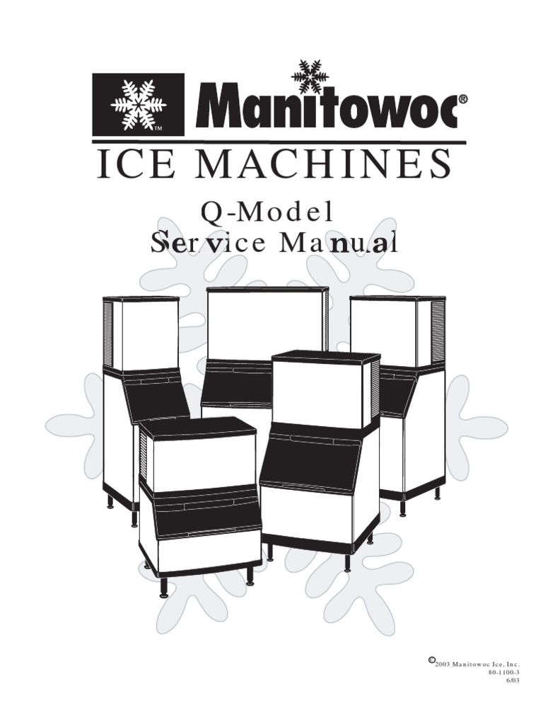 Manitowoc Ice Makers Service Manual   Air Conditioning   Electrical on