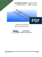 M. C. de Conexiones Nuevo Puente Grúa Minera Luren