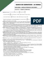 Matemática - Folha 01 GABARITO