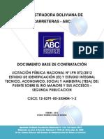 Documento Base de Contratacion Puente Sobre Rio Mamore, TESA, ABC