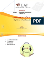 Semana 1 La Comunicacion - Lenguaje