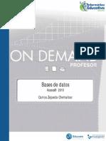 Access 2010 - Profesor