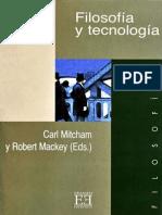 Mitcham Carl - Filosofia Y Tecnologia-OCR