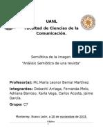 Analisis Semiotico de Una Revista