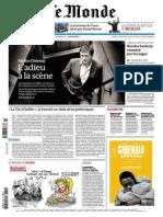Le Monde - 09 Octobre 2013