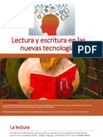 Lectura y Escritura en Las Nuevas Tecnologias