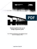 A Practical Guide to Bridge Expansion Joints