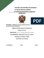 Superovulacion Manipulación y Clasificación de Embriones