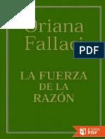 La Fuerza de La Razon - Oriana Fallaci