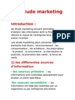 Les Étude Marketing