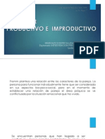 Caracteres Productivos o Improductivos