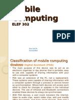 ELEF 302 Mobile Computing Part 3