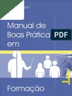 Manual de Boas Práticas em Formação