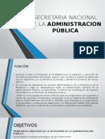 SECRETARIA NACIONAL DE LA ADMINISTRACION PÚBLICA.pptx