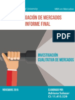 Informe Final Investigación Cualitativa de Mercados