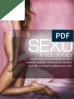 Sexo a Voluntad